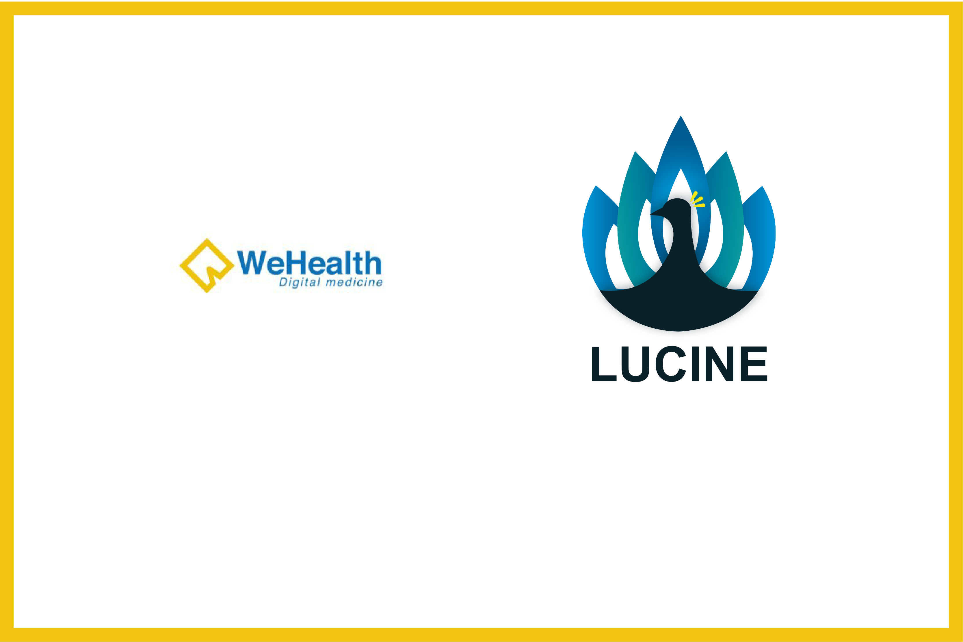 WeHealth Digital Medicine and French start-up Lucine sign