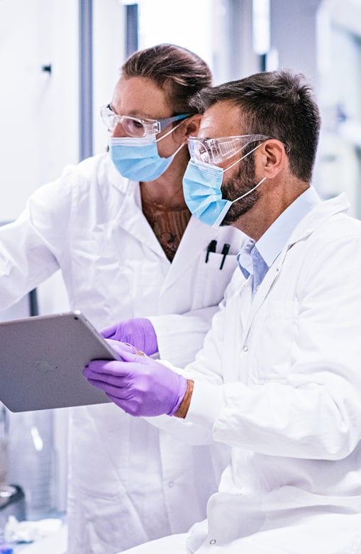 Photo of Servier 's employees in Research
