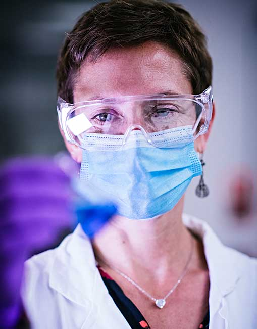 Picture of a Servier researcher