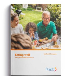Cover of My Food brochure for patients